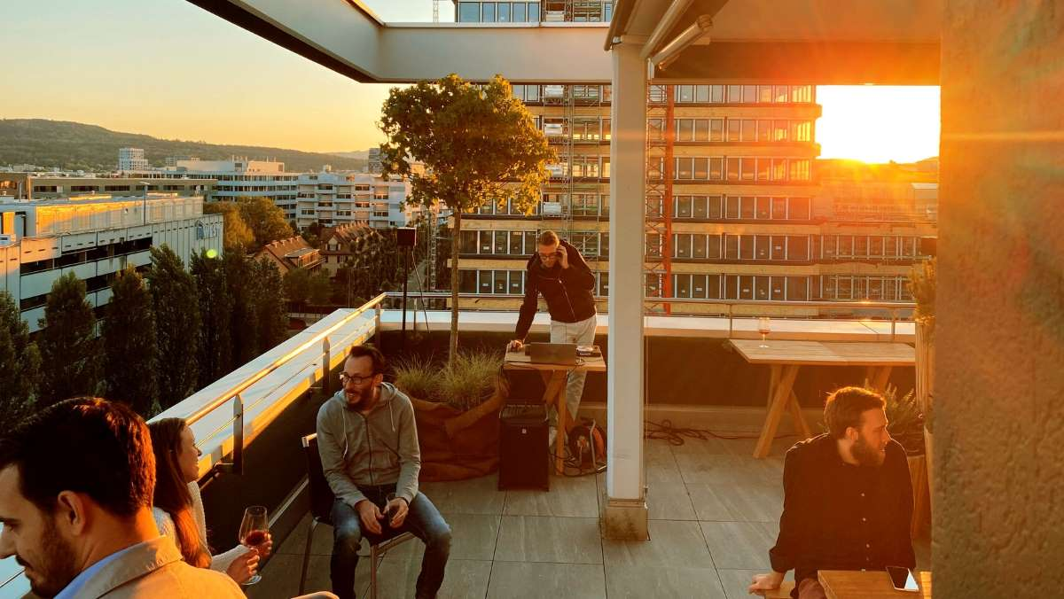 Westhive Rooftop Party Zürich